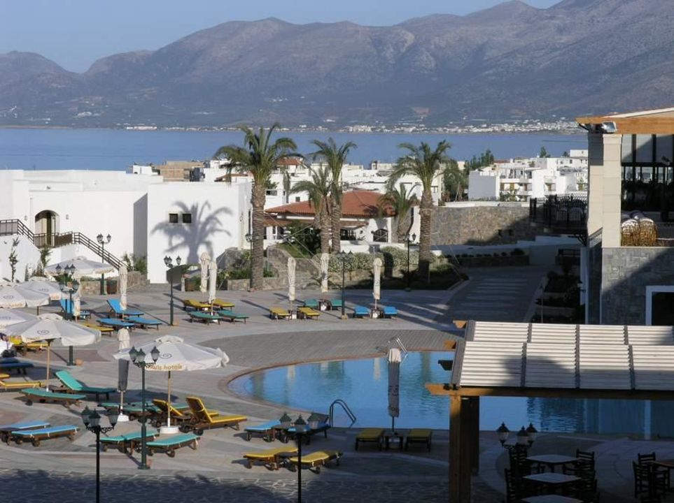 Poolbereich Terra Maris Hotel Creta Maris Beach Resort