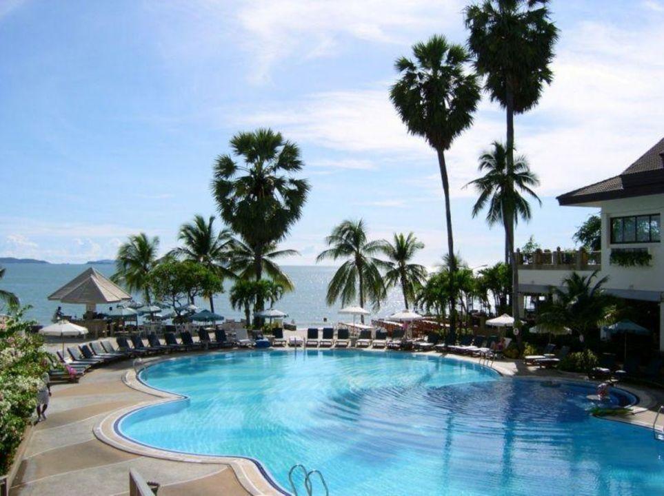 Pattaya - Garden Beach Resort - Poolanlage Garden Sea View Resort