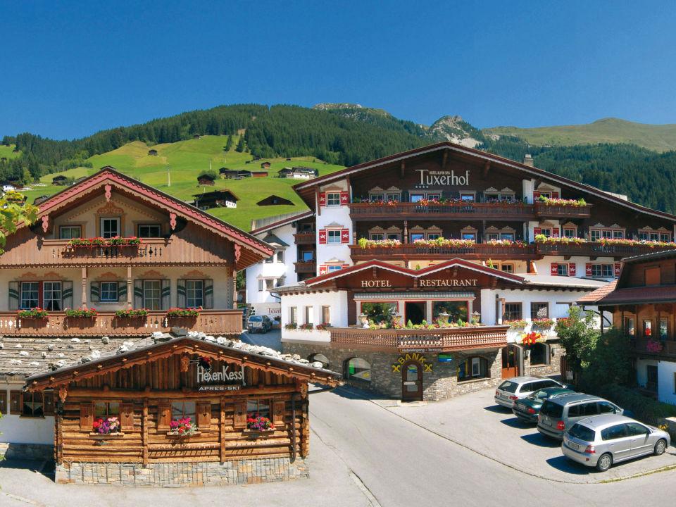 Zimmerblick Hotel Alpin Spa Tuxerhof
