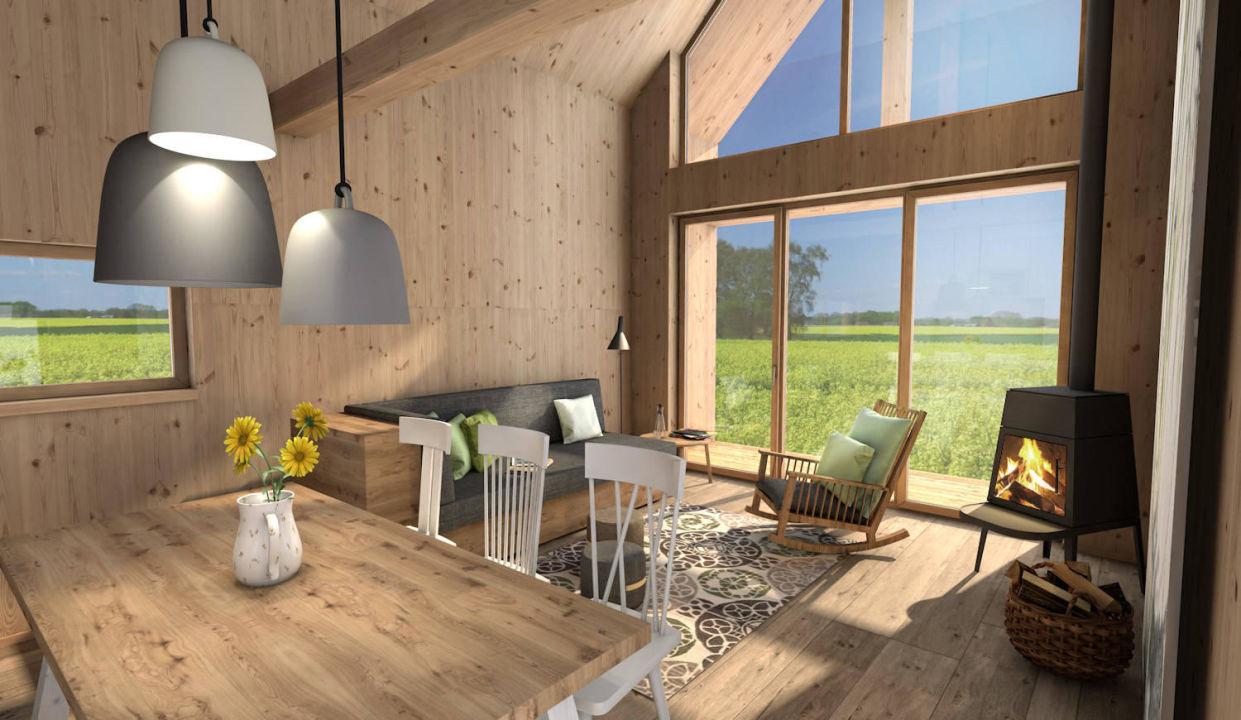 Wohnzimmer Mit Essbereich Hainichhöfe Premiumchalets
