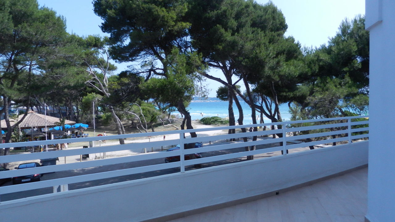 Linke Balkonaussicht Playa Esperanza Suites