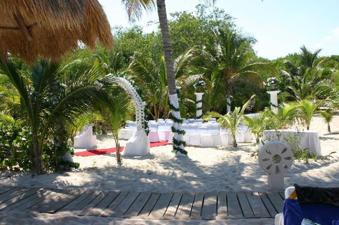 Hochzeitsvorbereitungen... IBEROSTAR Hotel Paraiso Beach