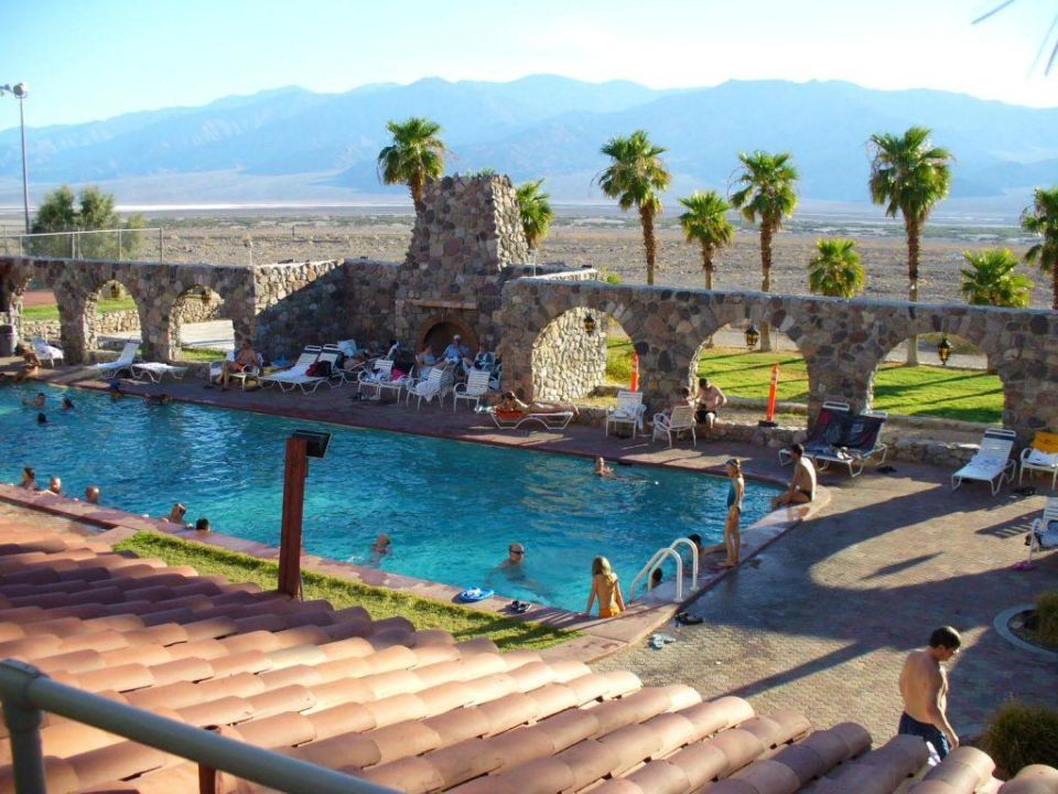 Quot Mineralwater Pool Quot Hotel Furnace Creek Ranch In Death