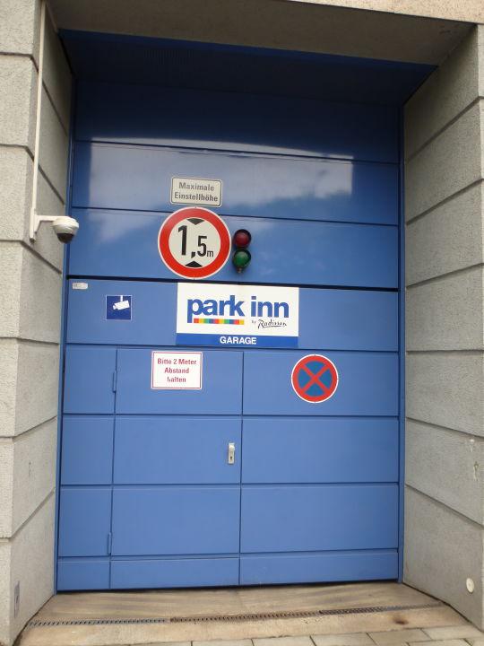 Außenansicht Park Inn by Radisson München Frankfurter Ring