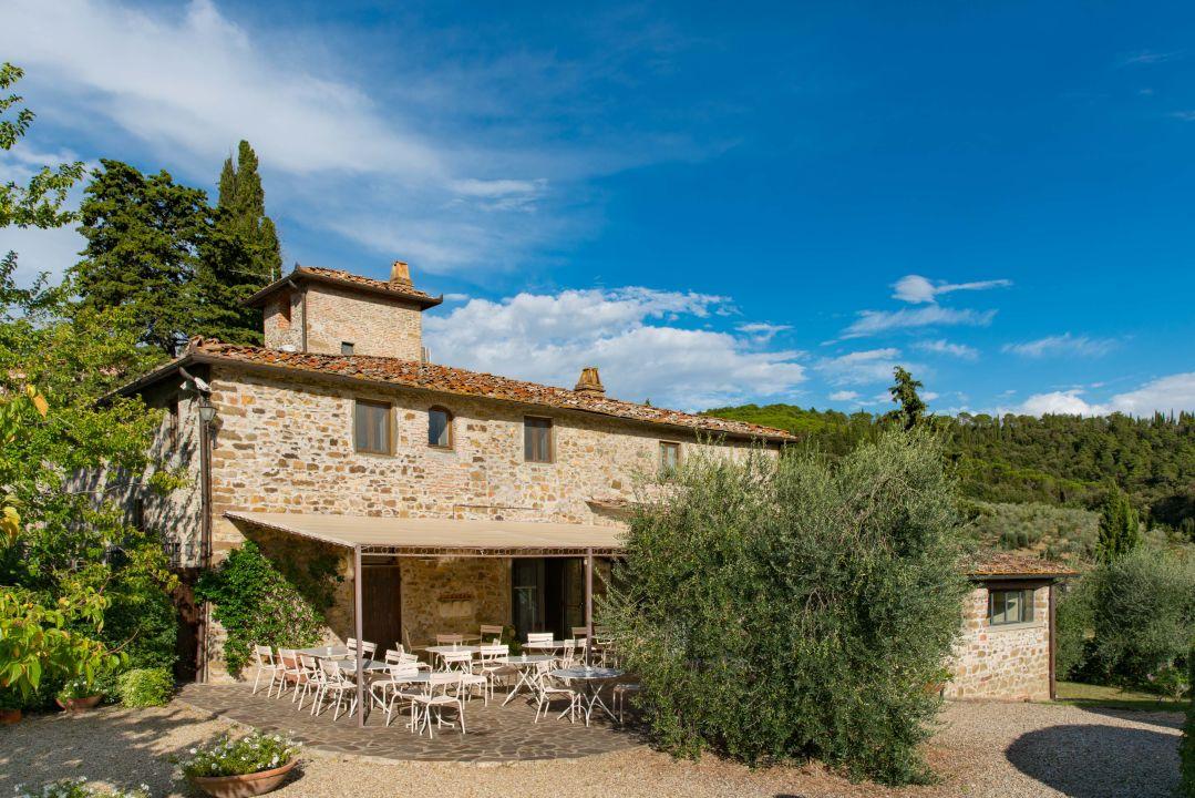 Außenansicht Hotel Villa Vignamaggio
