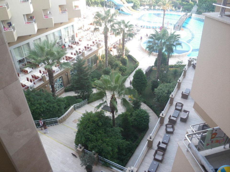 Bild vom Balkon Hotel Terrace Beach Resort