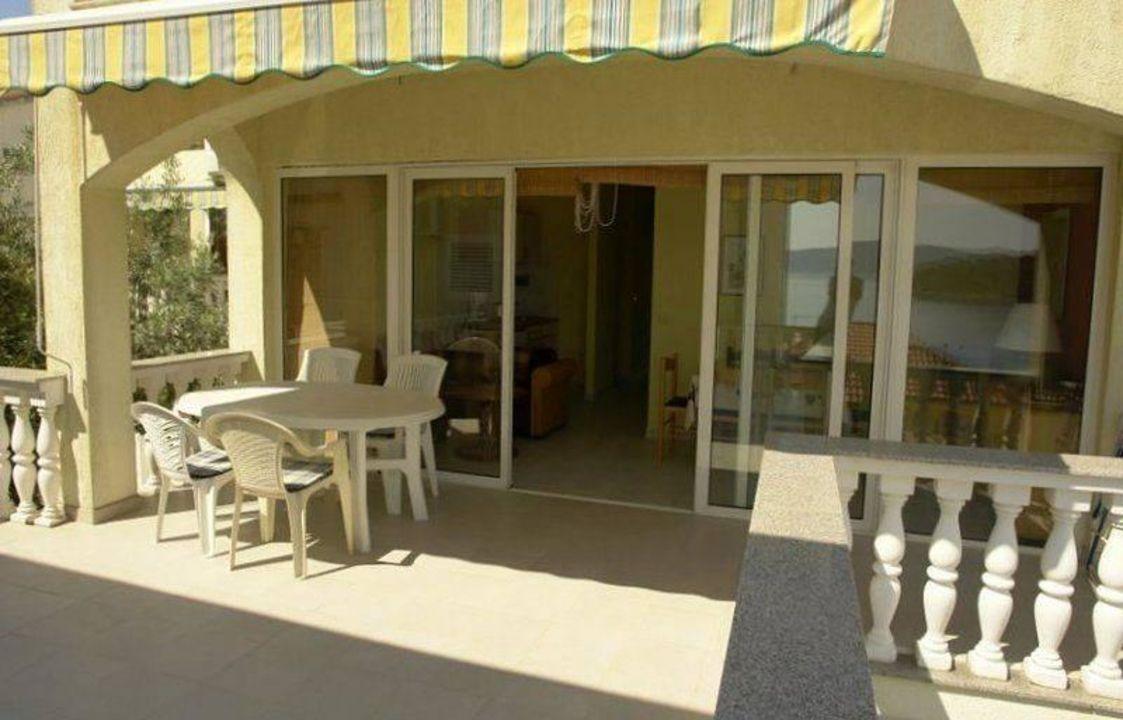 Terrasse Strandhaus Vivien A Strandhaus Vivien