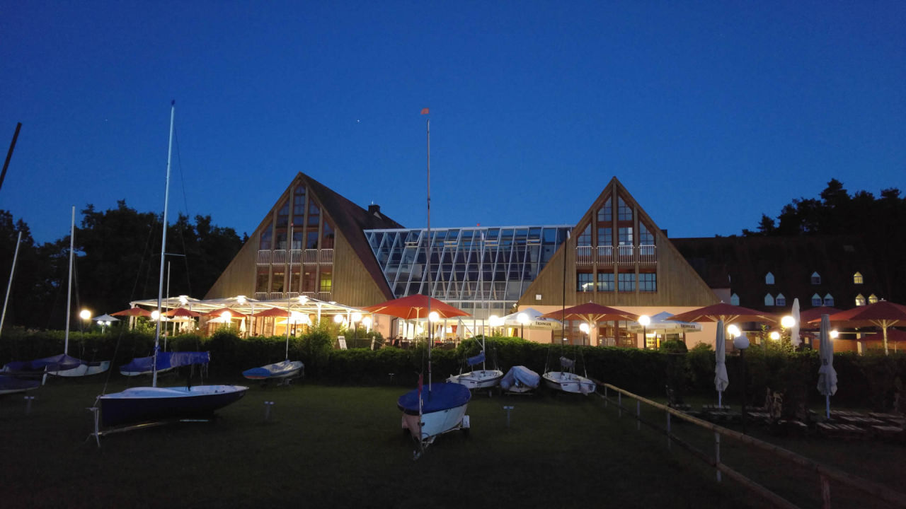 Strandhotel Seehof bei Nacht Strandhotel Seehof