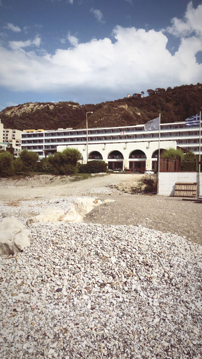 Außenansicht Hotel Oceanis Beach