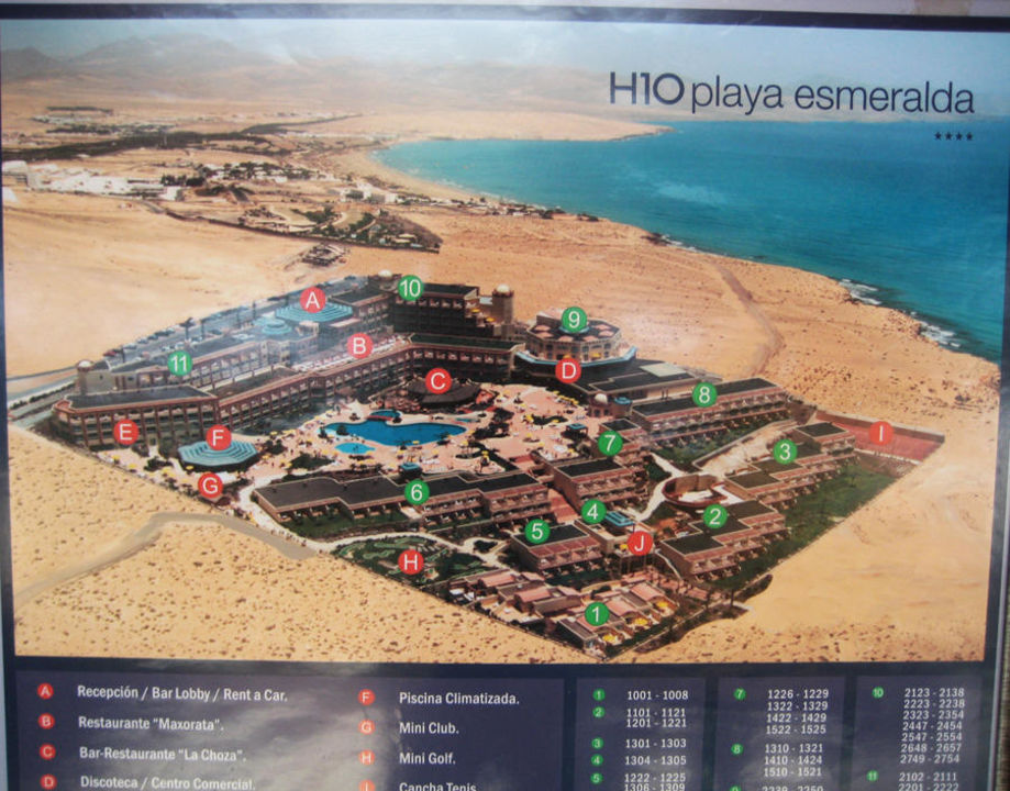 H Playa Esmeralda Hotel Fuerteventura