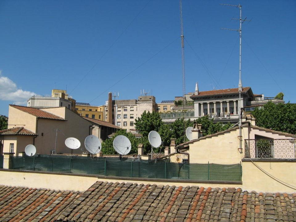 Ausblick auf den Piazza Baberini Hotel Barocco