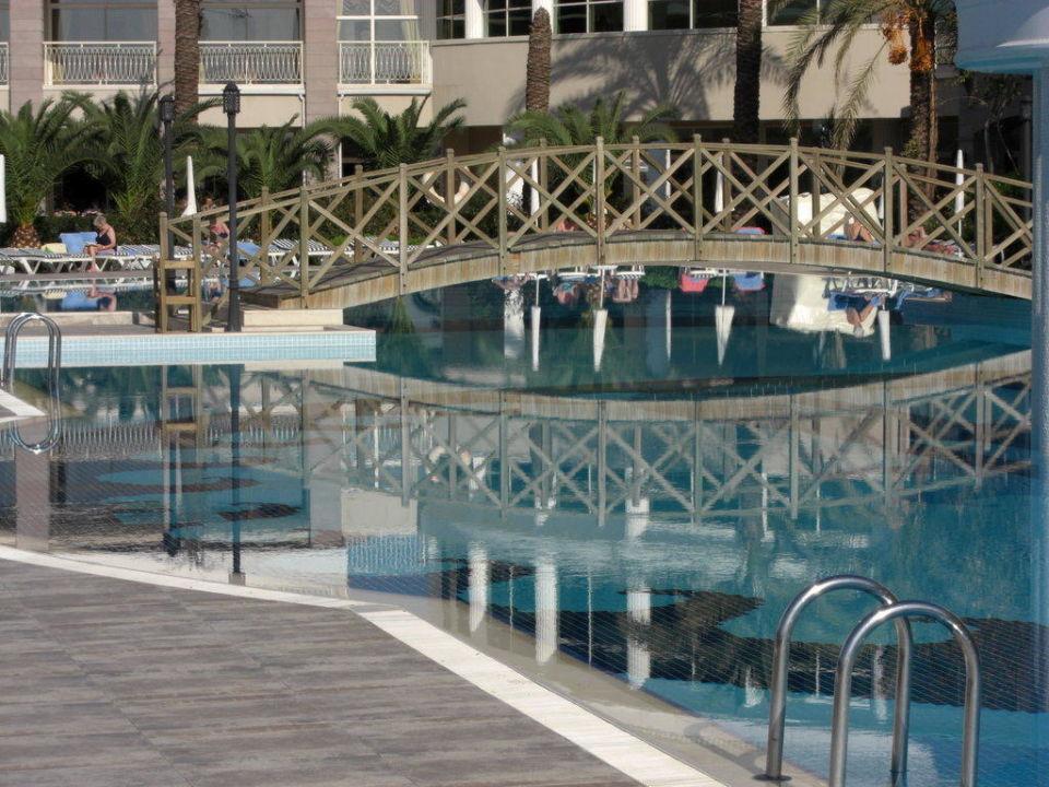 Blick auf den Pool Trendy Aspendos Beach Hotel