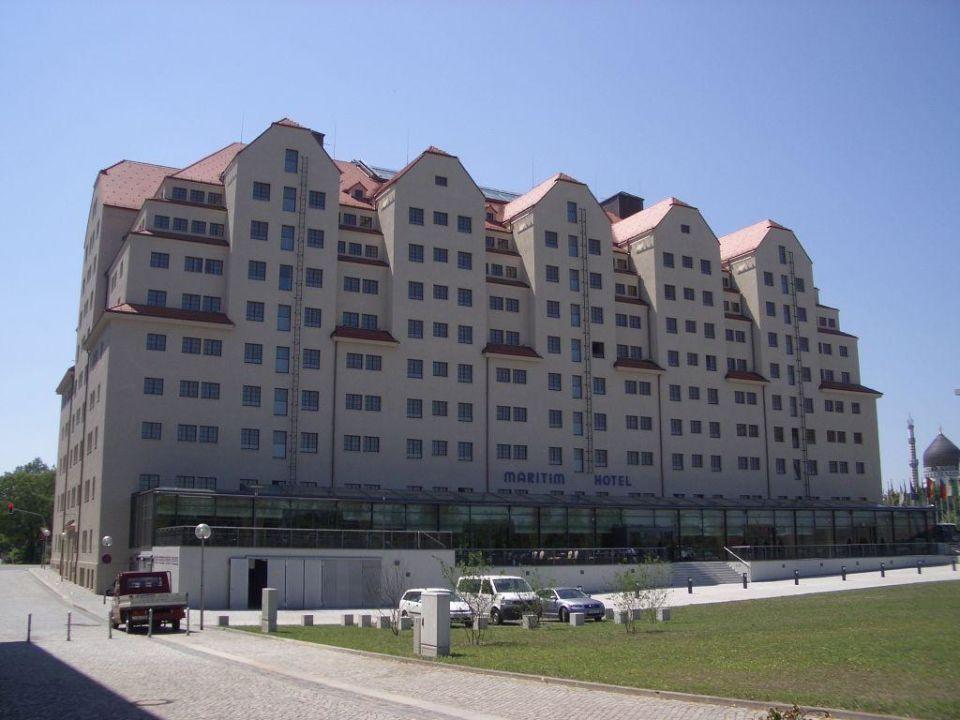 Aussenansicht Maritim Hotel Dresden