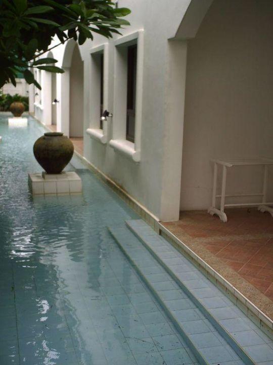 Zimmer / Terrasse mit Poolzugang Hotel Samui Palm Beach Resort