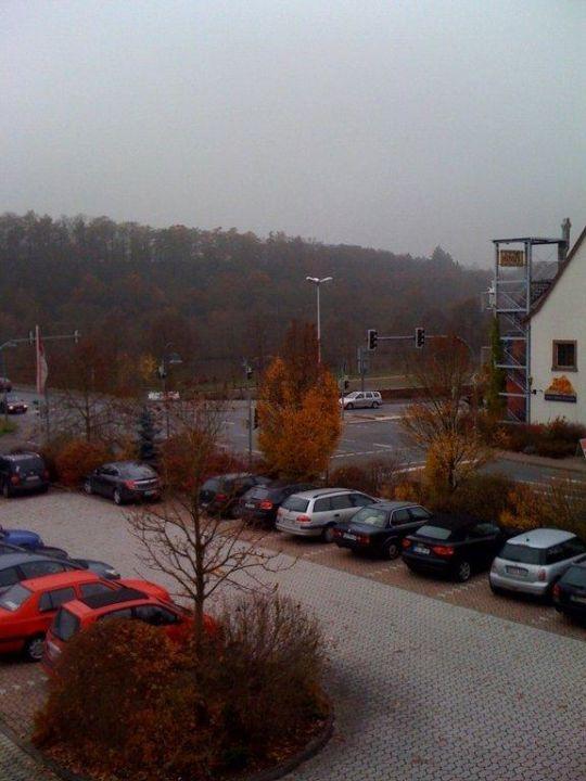 Aus Dem Zimmer Hotel Zur Schonen Aussicht Marktheidenfeld