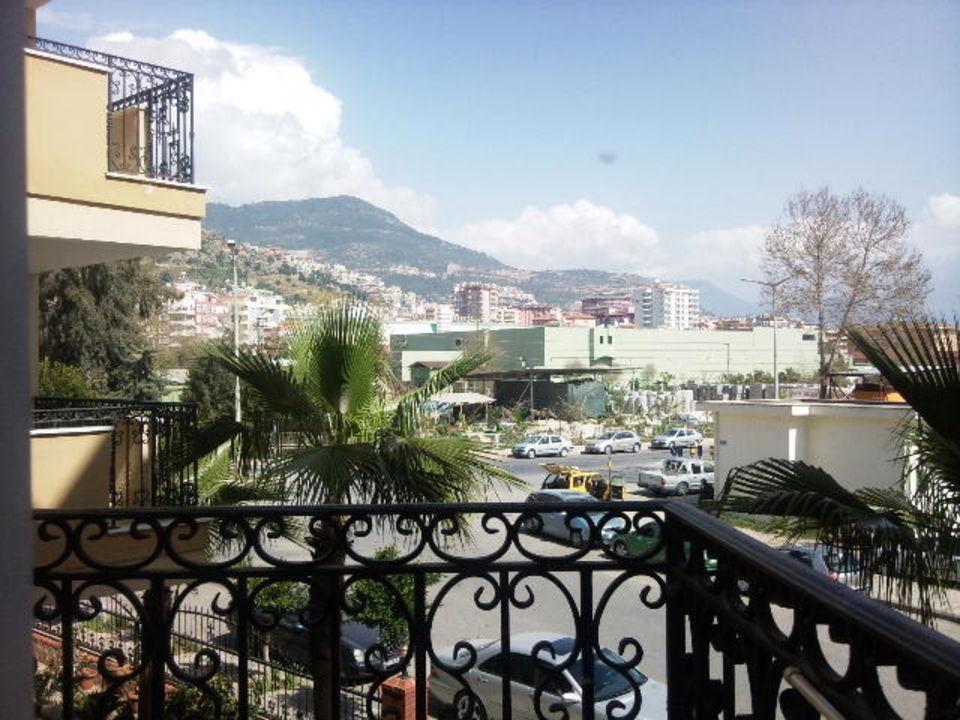Balkonseite Hotel Kleopatra Royal Palm