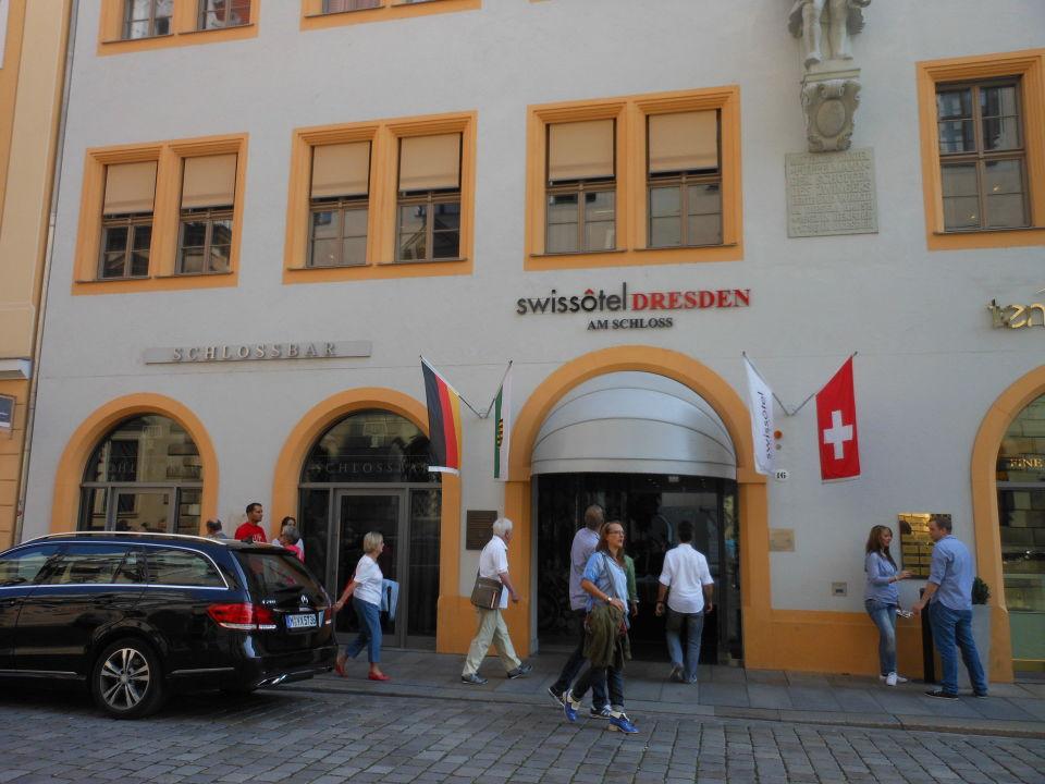 Swissôtel Dresden Haupteingang Hyperion Hotel Dresden Am Schloss