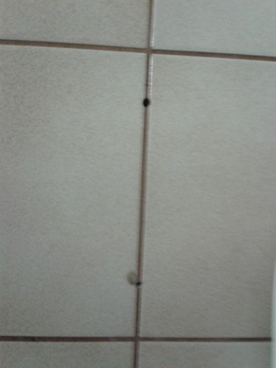 bild kabel in der dusche zu hotel almerwirt in maria alm. Black Bedroom Furniture Sets. Home Design Ideas
