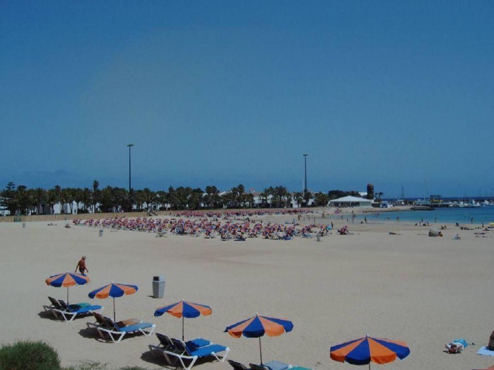 Strand von Caleta de Fuste Hotel Barceló Fuerteventura Thalasso Spa