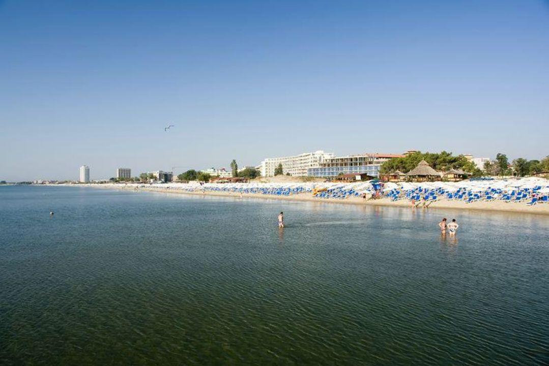 Plaża w Słonecznym Brzegu Hotel Kokiche