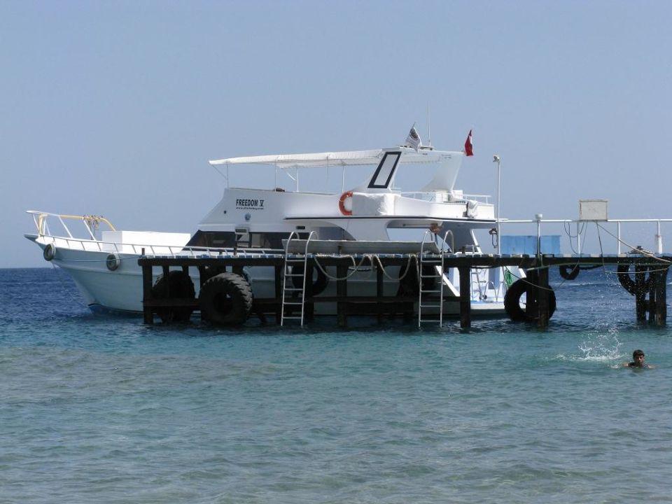 Bootsanleger Hotel Sunshine Divers Club