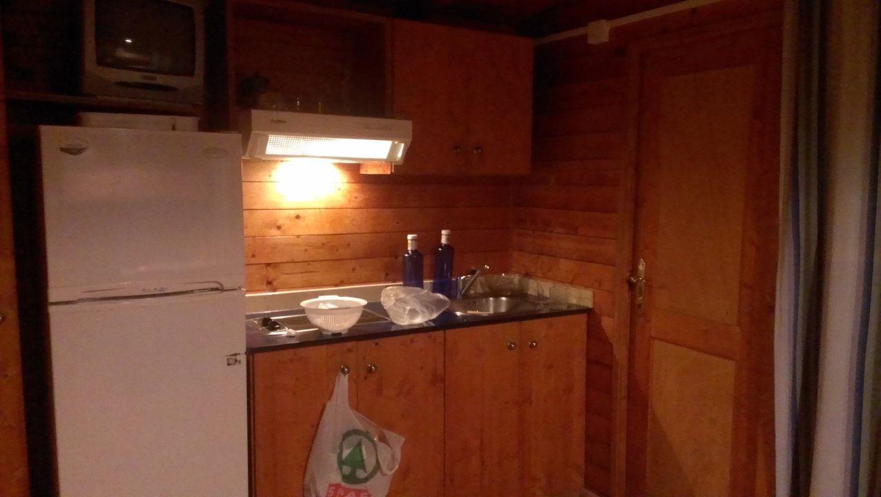 Küche Camping Playa y Fiesta