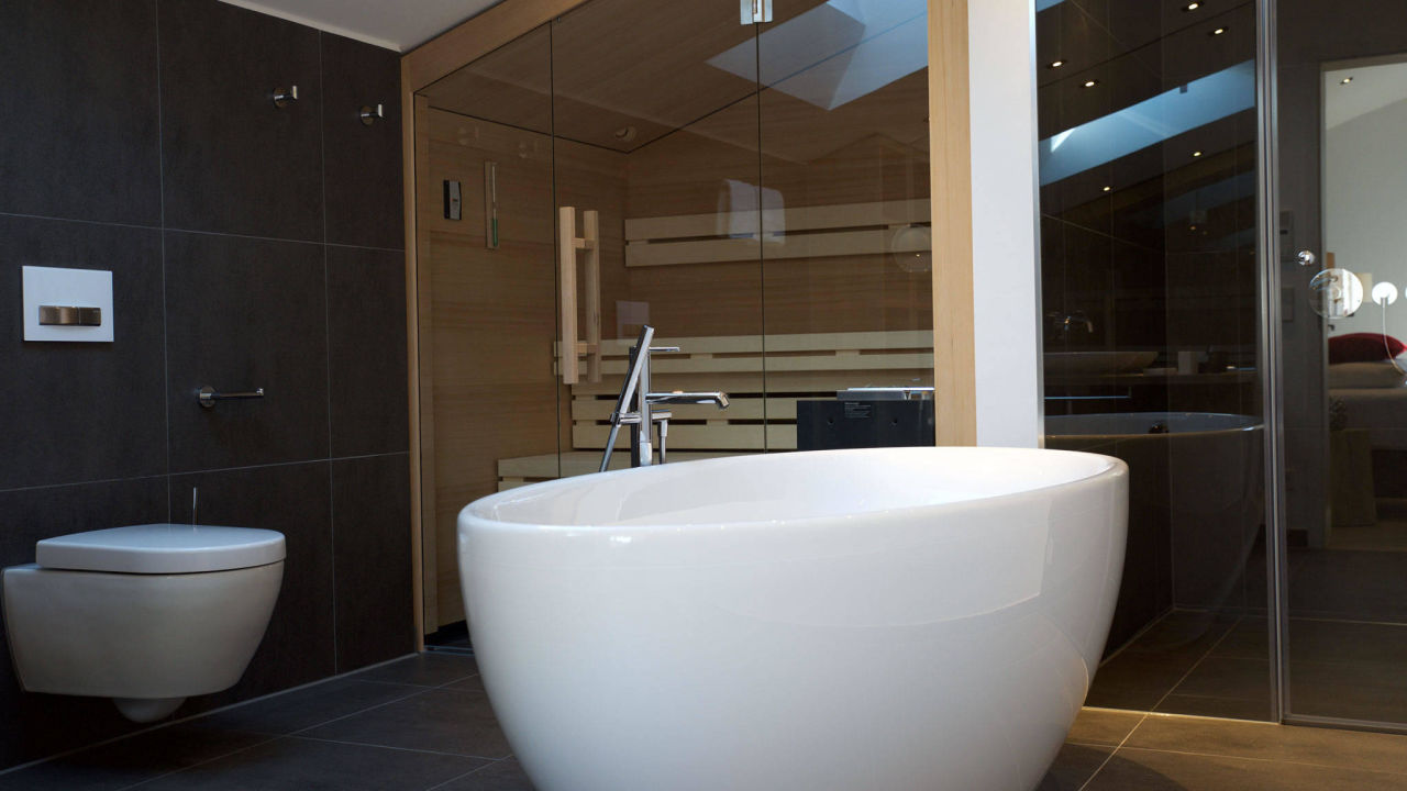 panorama chalet badezimmer das hochgrat in oberstaufen holidaycheck bayern deutschland. Black Bedroom Furniture Sets. Home Design Ideas