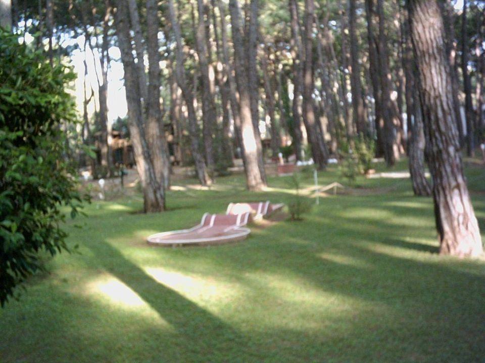 Eine Bahn der Minigolfanlage im Gelände Hotel Turquoise Turquoise Hotel