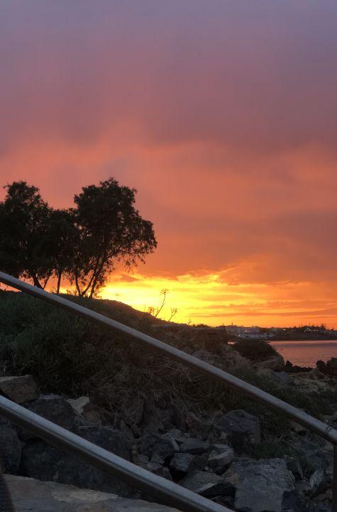 Ausblick Cactus Bay