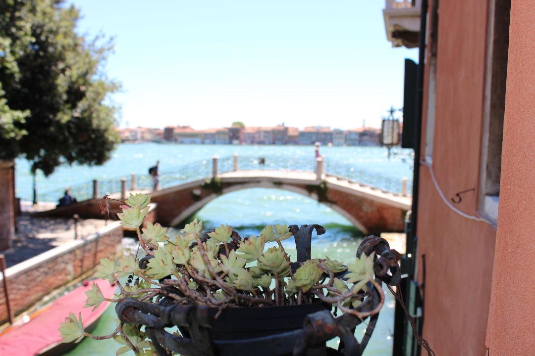 Ausblick vom Zimmer Hotel Pensione Seguso