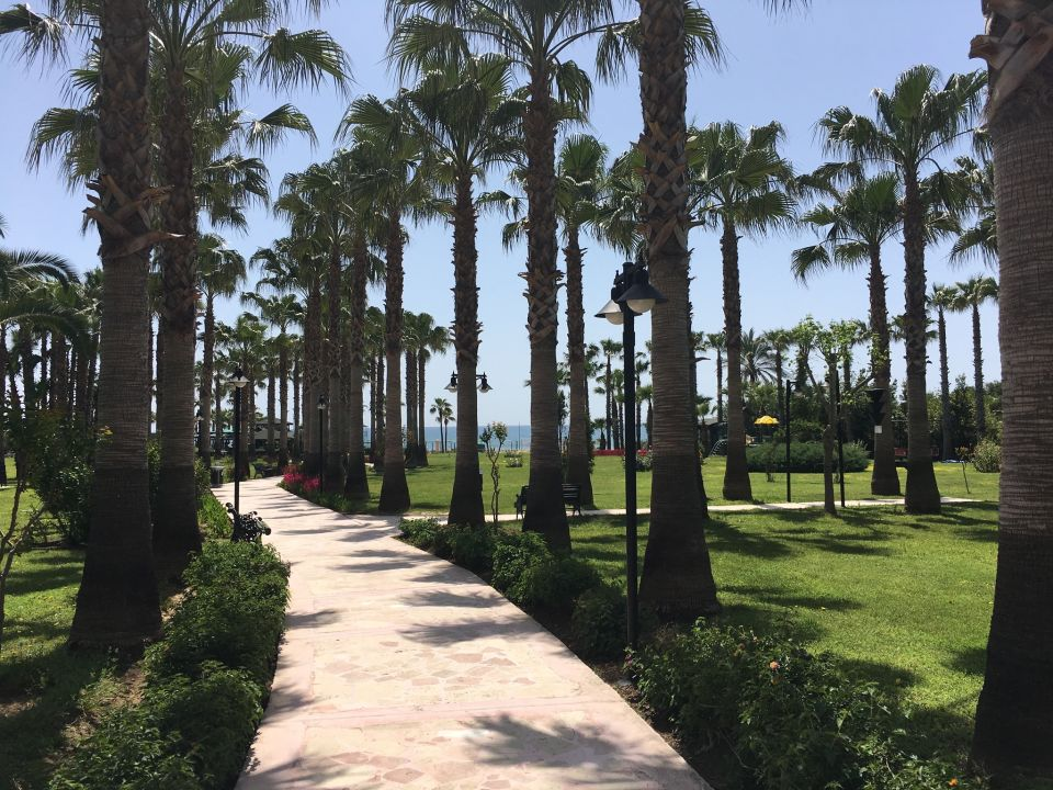 Quot Gartenanlage Quot Royal Atlantis Beach Hotel Side G 252 Ndogdu