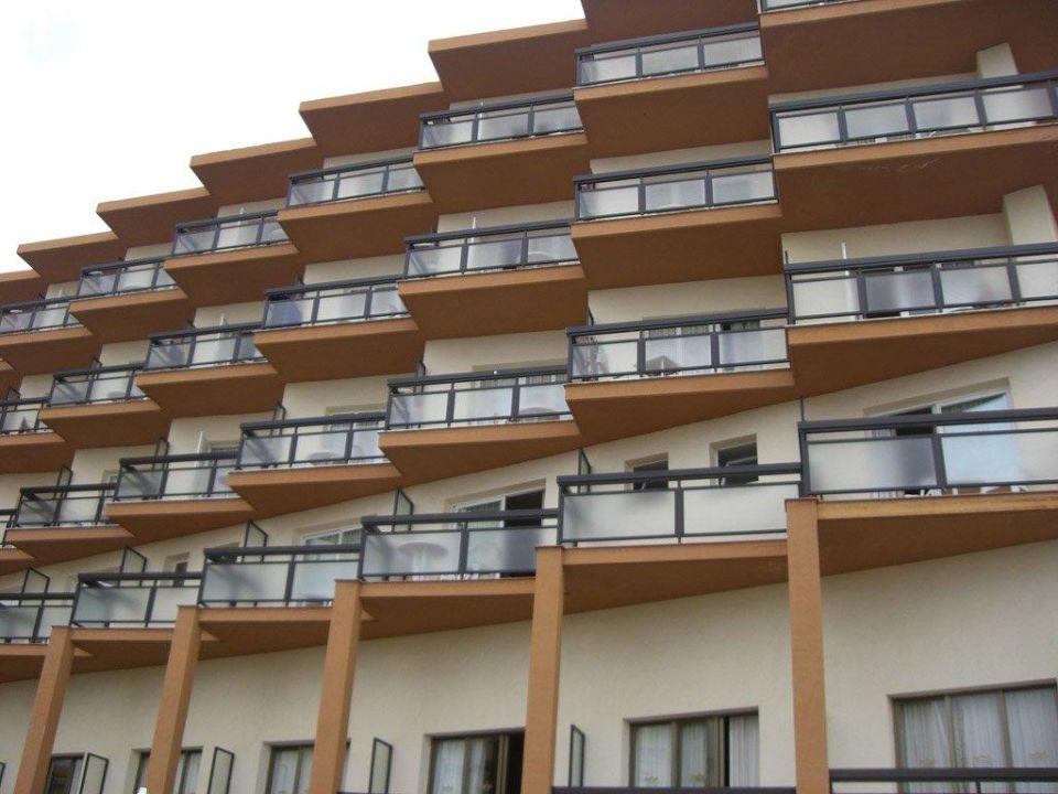 Die Balkone: Zum Daheimfühlen Hotel Riu Belplaya (Vorgänger-Hotel – existiert nicht mehr)
