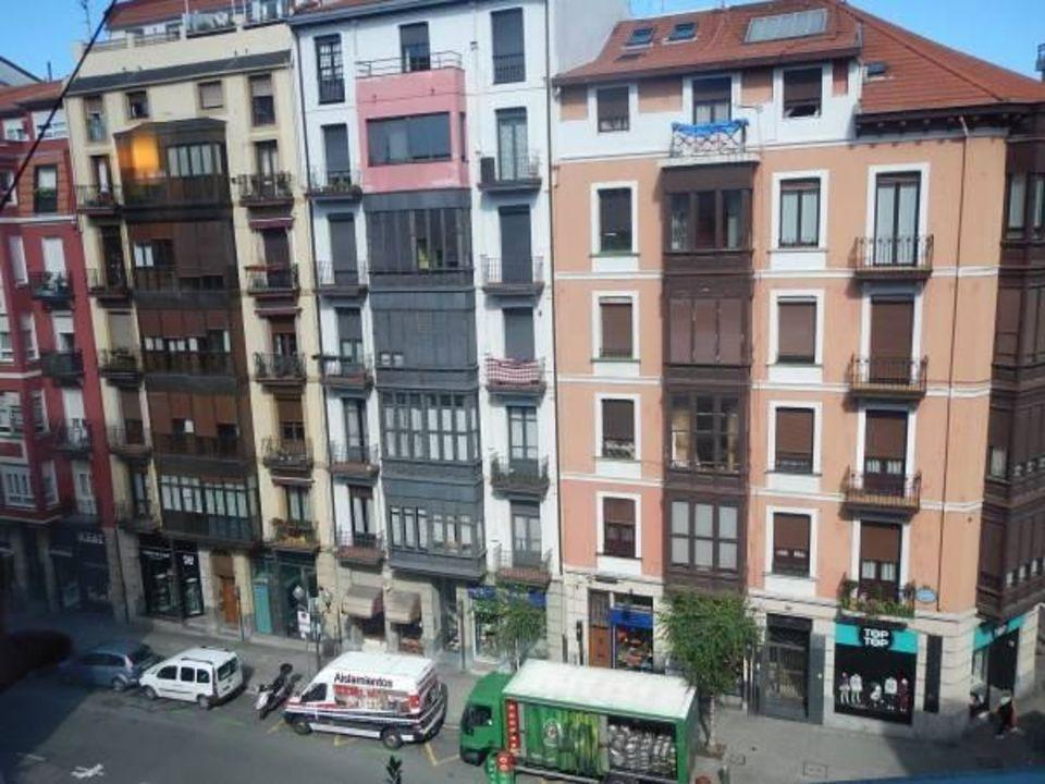Zimmerblick Stadt Ibis Hotel Bilbao Centro