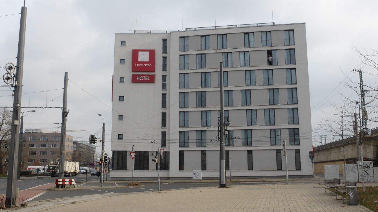 Au enansicht leonardo hotel dresden altstadt dresden for Dresden hotel altstadt