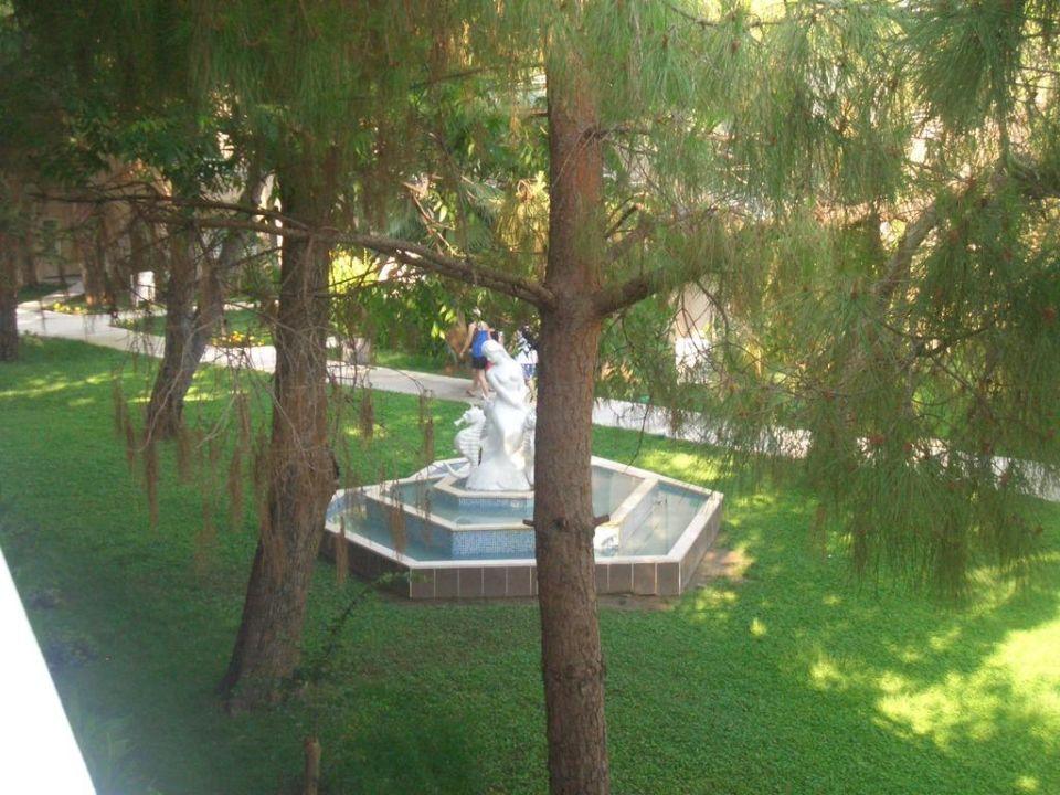 Bild ausblick in den garten vom restaurant zu hotel for Garten pool 4m