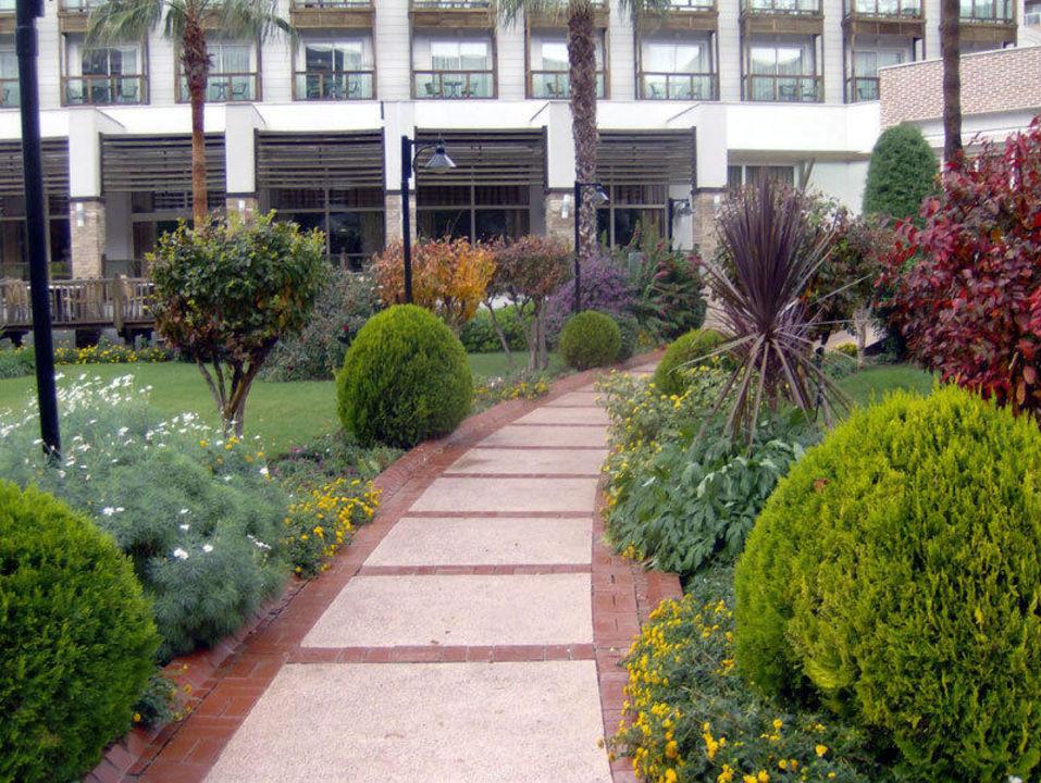 Weg zur Palme Hotel Oleander