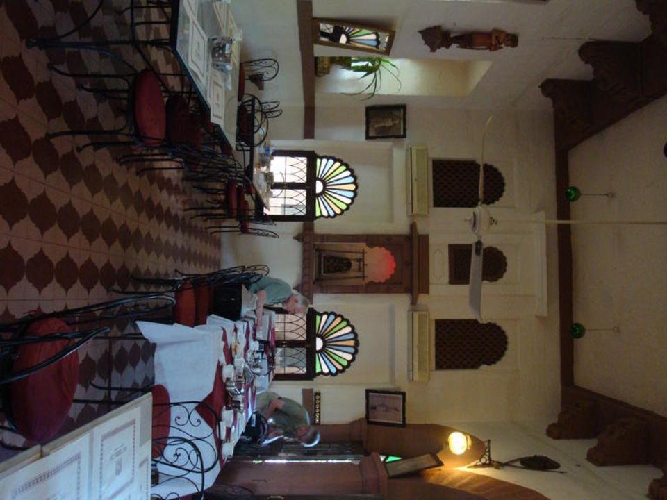 Im Speisesaal Hotel Fort Chanwa Luni
