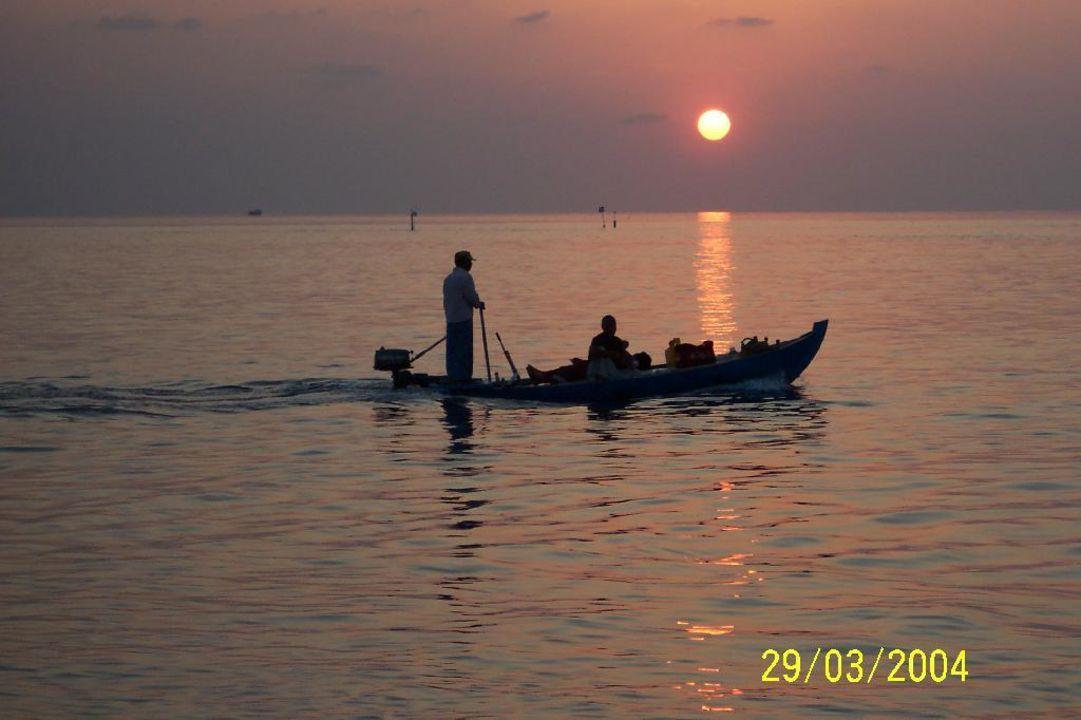 Sonnenuntergang auf Lohifushi Hotel Adaaran Select Hudhuran Fushi