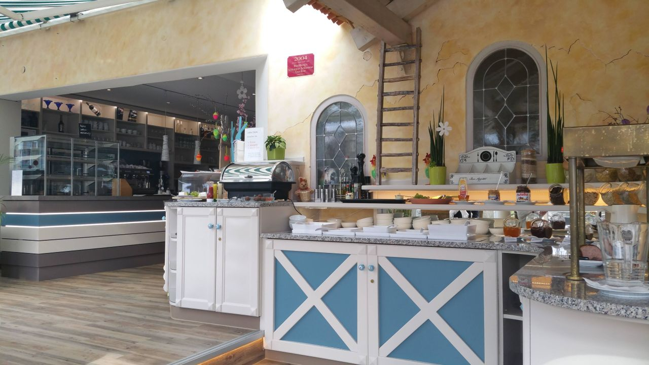 Teil vom Frühstücksbuffet, lecker Hotel Volapük