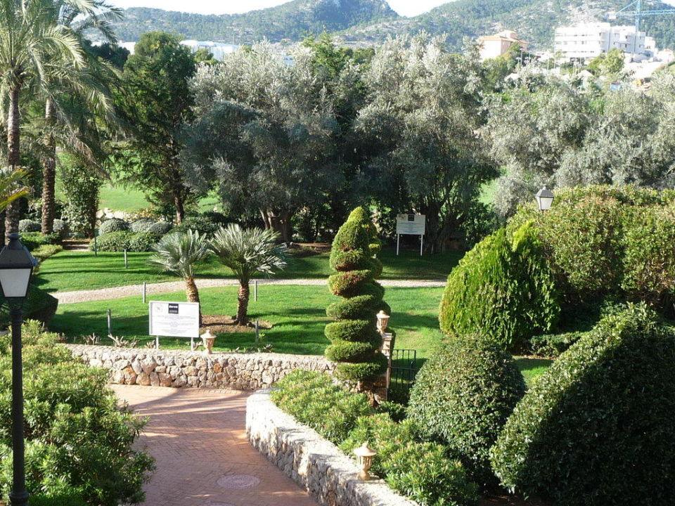 Gartenanlage Steigenberger Golf & Spa Resort Camp de Mar