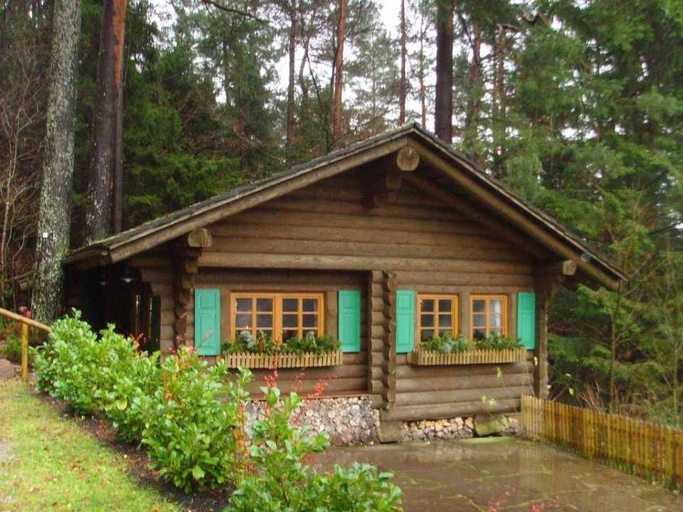 Blockhütte der Traube Tonbach Hotel Traube Tonbach