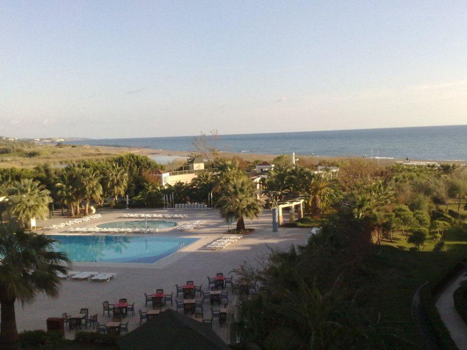 Blick vom Zimmer Washington Resort & SPA