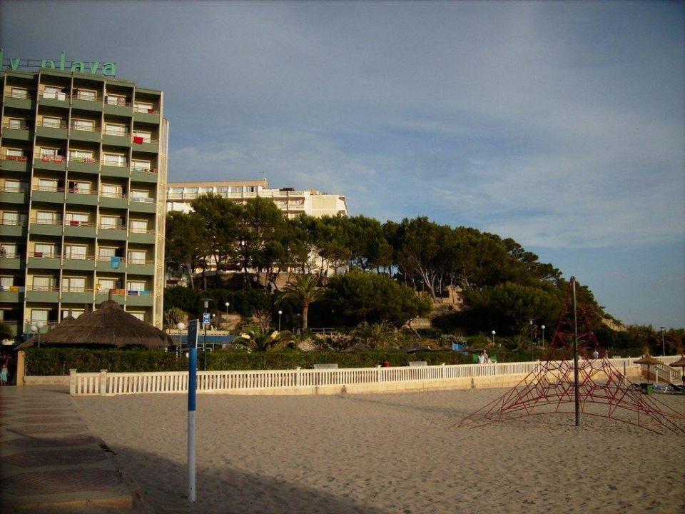 Hotel vom Strand Hotel Beverly Playa