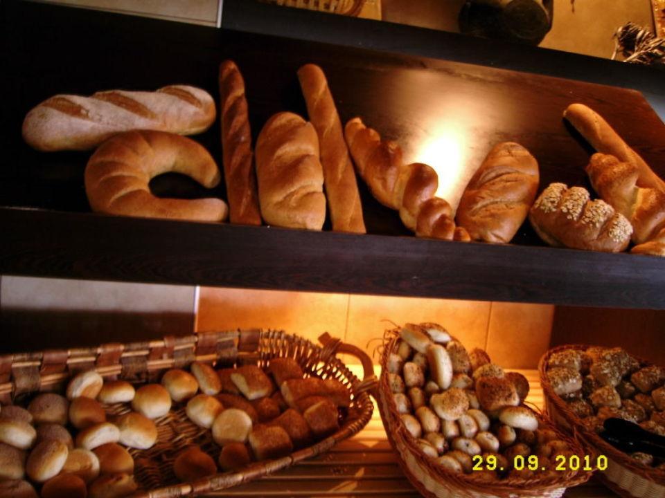Köstliche Brotspezialtäten Green Max Hotel