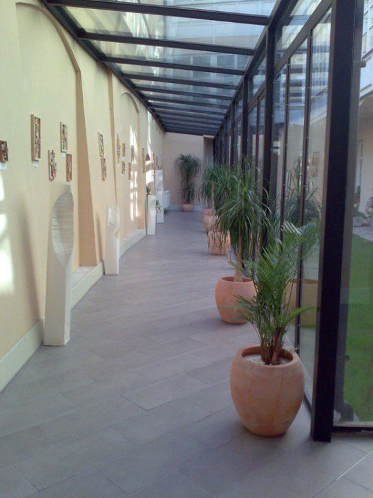 Eingangsbereich Hotel Leonardo Prague