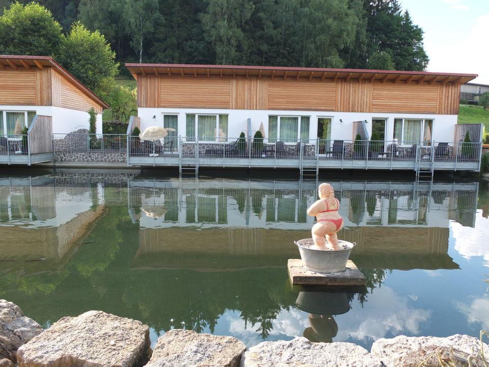 Hessen Mühle blick zu den appartements landgasthof hessenmühle großenlüder