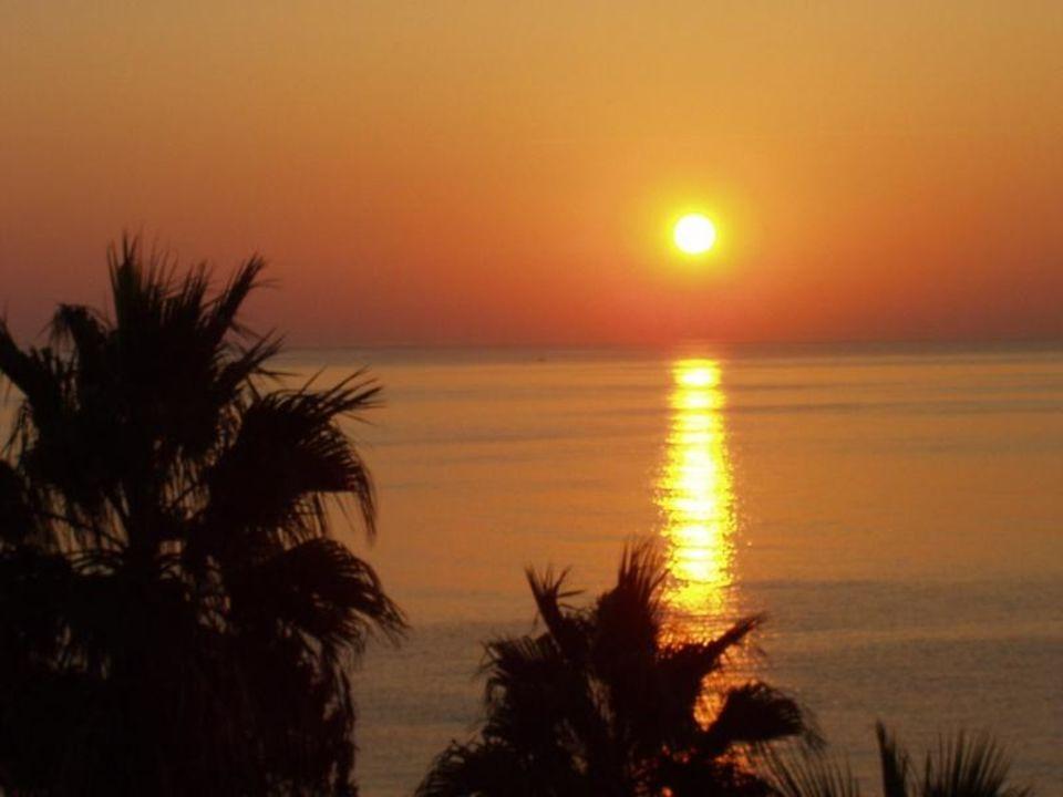 Sonnenaufgang in Cala Millor/Mallorca Hipotels Don Juan