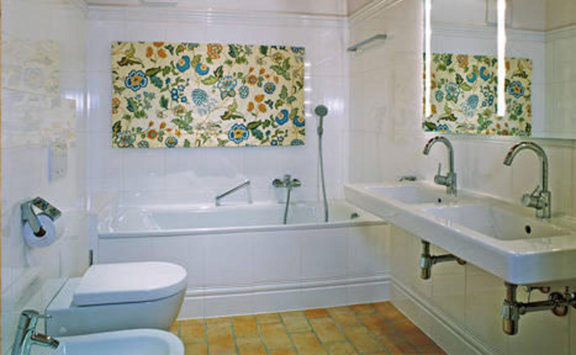 """bild """"hochwertiges badezimmer m wanne, appt. 6"""" zu landhaus schloß, Badezimmer"""