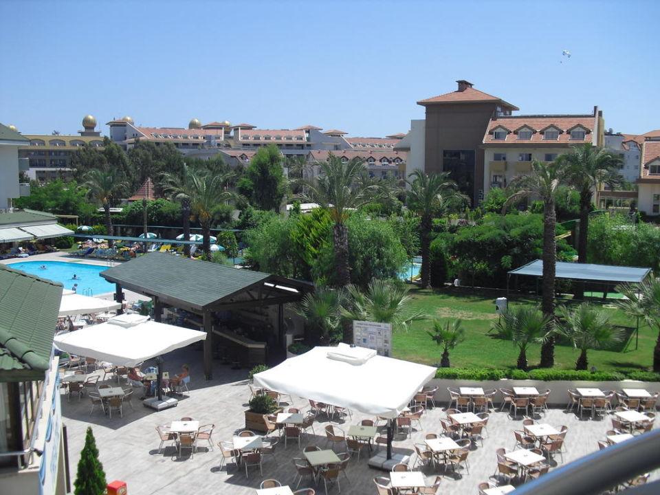 Ausblick vom Balkon Side Breeze Hotel