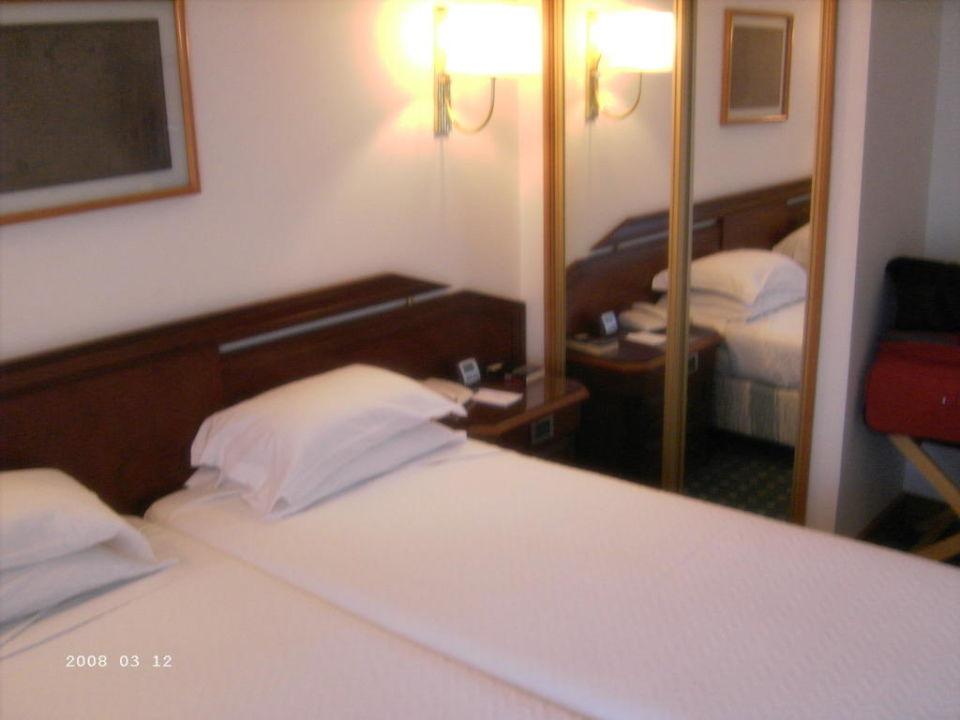 Zimmer vom Balkon Hotel Sana Classic Rex